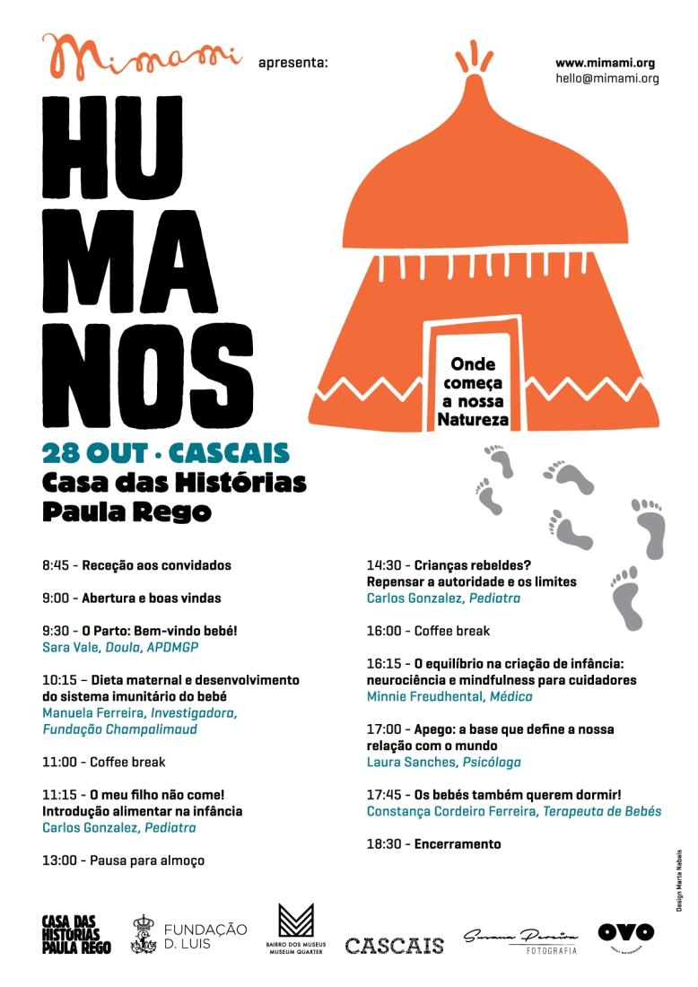 Humanos_cartaz_programa 28-10
